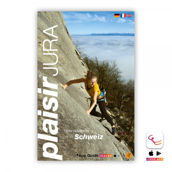 Switzerland Plaisir Jura - Sport Climbing Guidebook