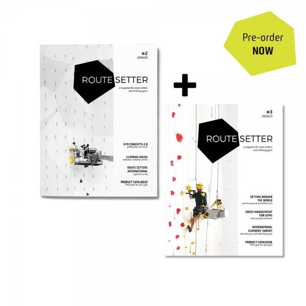 PRE-ORDER: Route Setter Magazine #2 + #3 Bundle