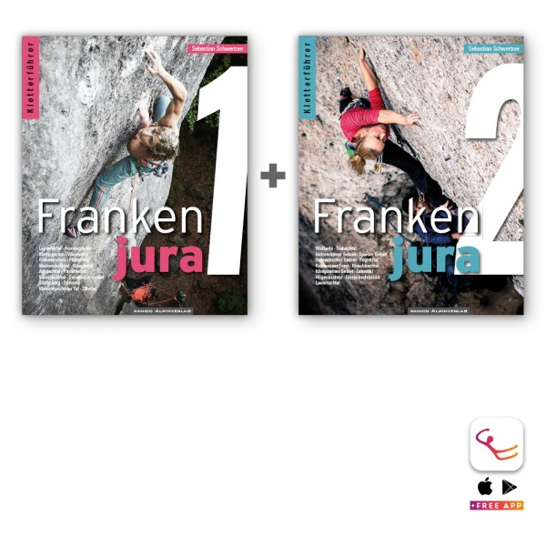 Special Bundle Frankenjura Band 1+2 (Edition 2016)