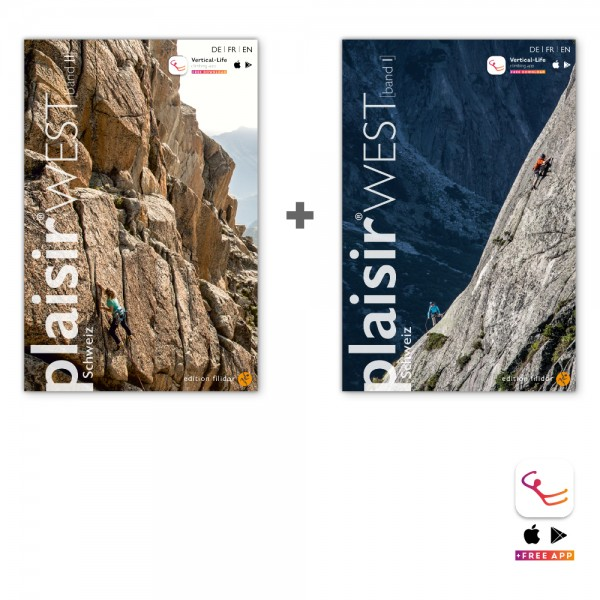 Schweiz Plaisir West Bundle (Vol.1 + Vol.2)
