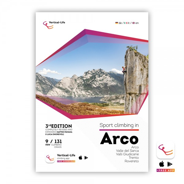 Arco: Sport Climbing Guidebook 2019