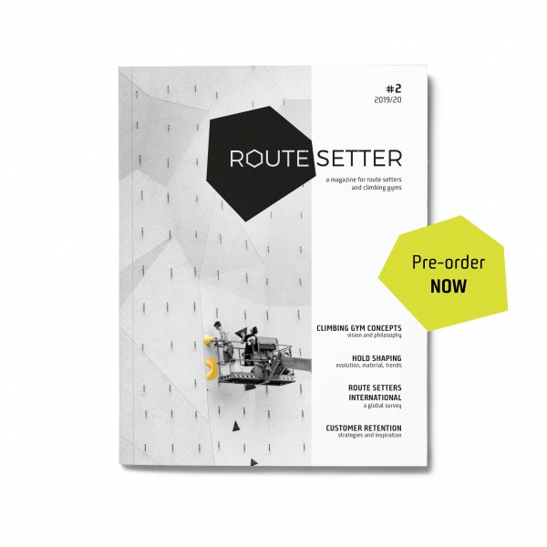 PRE-ORDER: Route Setter Magazine #2 – das Fachmagazin für die Kletterhallen Branche