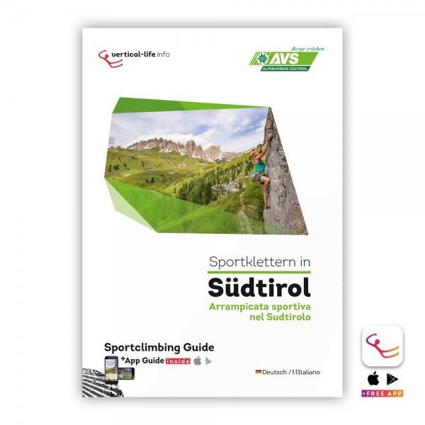 South Tyrol: Sport Climbing Guidebook