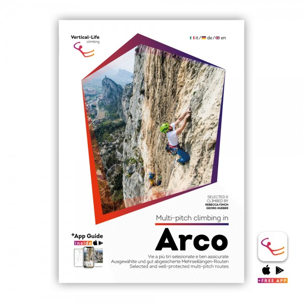 Arco: Multi-Pitch Climbing Guidebook