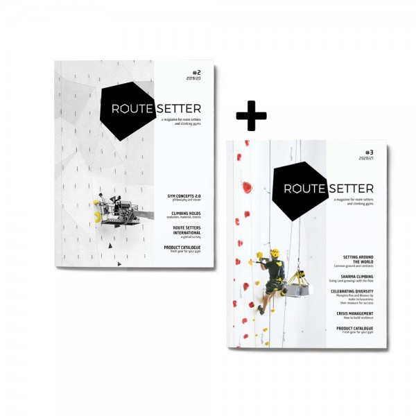 Route Setter Magazine #2 + #3 Bundle