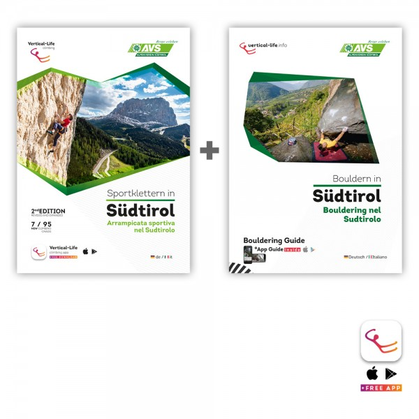 Special South Tyrol Bundle (Sport climbing and bouldering guidebook)