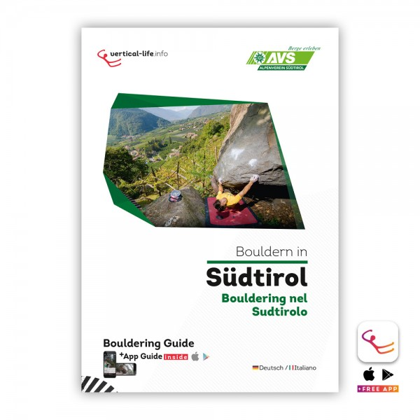South Tyrol: Bouldering Guidebook